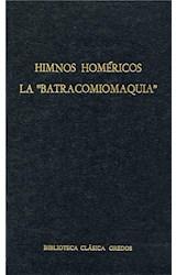 """E-book Himnos homéricos. La """"Batracomiomaquia"""""""