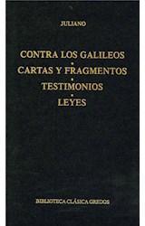 E-book Contra los galileos. Cartas y fragmentos. Testimonios. Leyes