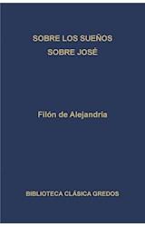 E-book Sobre los sueños. Sobre José.