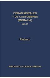 E-book Obras morales y de costumbres (Moralia) IX