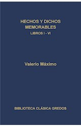 E-book Hechos y dichos memorables. Libros I-VI