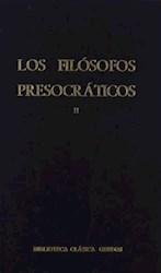 Papel Filosofos Presocraticos Ii, Los