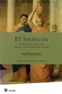 Papel SATIRICON (BIBLIOTECA CLASICA GREDOS)
