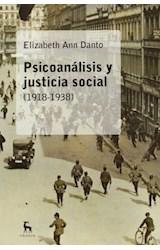 Papel PSICOANALISIS Y JUSTICIA SOCIAL