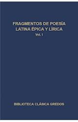 E-book Fragmentos de poesía latina épica y lírica I
