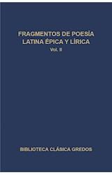 E-book Fragmentos de poesía latina épica y lírica II