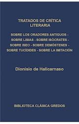 E-book Tratados de crítica literaria