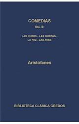 E-book Comedias II. Las nubes - Las avispas - La paz - Las aves