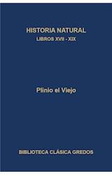 E-book Historia natural. Libros XVII-XIX