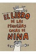 Papel LIBRO DE LAS PEQUEÑAS COSAS DE NINA (CARTONE)