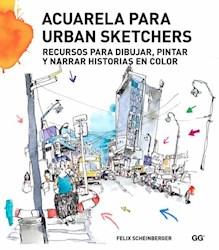 Libro Acuarela Para Urban Sketchers