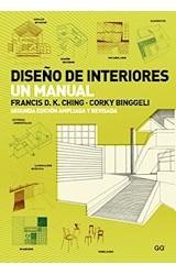 Papel DISEÑO DE INTERIORES UN MANUAL [2 EDICION APLIADA Y REVISADA]
