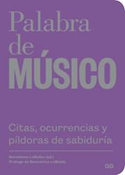 Libro Palabra De Musico