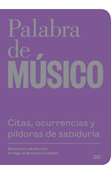 Papel PALABRA DE MUSICO