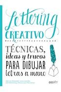 Papel LETTERING CREATIVO TECNICAS IDEAS Y TRUCOS PARA DIBUJAR LETRAS A MANO (DIY)