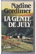 Papel GENTE DE JULY [PREMIO NOBEL DE LITERATURA 1991]