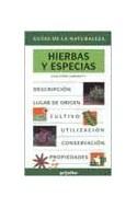 Papel HIERBAS Y ESPECIAS (GUIAS DE LA NATURALEZA) (CARTONE)