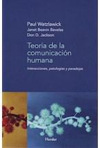 Papel TEORIA DE LA COMUNICACION HUMANA