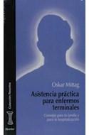 Papel ASISTENCIA PRACTICA PARA ENFERMOS TERMINALES CONSEJOS PARA LA FAMILIA Y PARA LA HOSPITALIZ