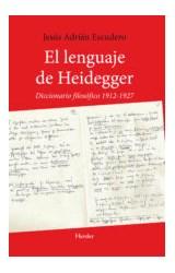 Papel EL LENGUAJE DE HEIDEGGER