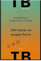 Papel 200 TAREAS EN TERAPIA BREVE
