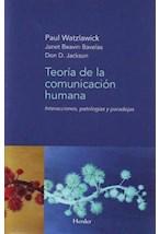 E-book Teoría de la comunicación humana