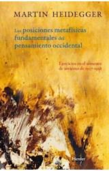 Papel POSICIONES METAFISICAS FUNDAMENTALES DEL PENSAMIENTO OCCIDEN