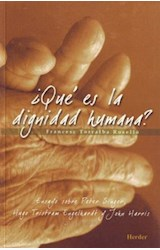 E-book ¿Qué es la dignidad humana?