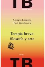 E-book Terapia breve: filosofía y arte