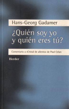 E-book ¿Quién Soy Yo Y Quién Eres Tú?