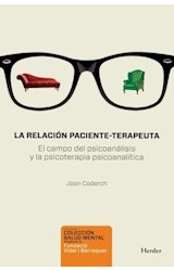 E-book La relación paciente-terapeuta
