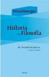 E-book Historia de la filosofía III
