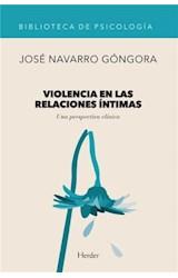 E-book Violencia en las relaciones íntimas