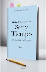 E-book Guía para la lectura de Ser y Tiempo de Heidegger ( vol. 1)