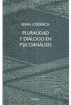 E-book Pluralidad y diálogo en psicoanálisis