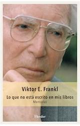 E-book Lo que no está escrito en mis libros