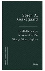 Papel LA DIALECTICA DE LA COMUNICACION ETICA Y ETICO-RELIGIOSA