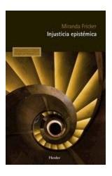Papel INNJUSTICIA EPISTEMICA
