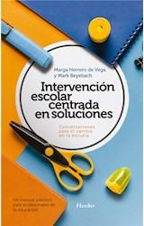 E-book Intervención escolar centrada en soluciones