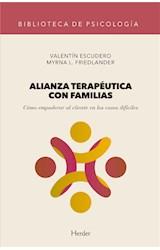 E-book Alianza terapéutica con familias