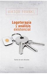 E-book Logoterapia y análisis existencial