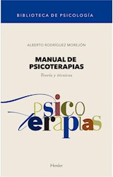 E-book Manual de psicoterapias