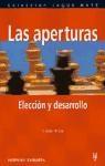 Papel Aperturas, Las Eleccion Y Metodo