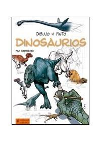 Papel Dinosaurios . Dibujo Y Pinto