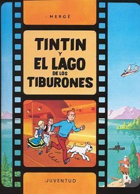 Papel Tintin Y El Lago De Los Tiburones (Tb)