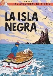 Libro La Isla Negra  Las Aventuras De Tintin