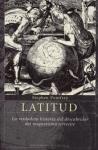 Libro Latitud: La Verdadera Historia Del Magnetismo Terrestre