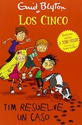Libro Los Cinco Tim Resuelve Un Caso - Historias Cortas A Todo Color