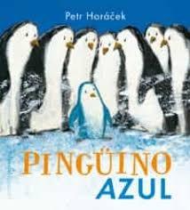 Papel Pingüino Azul