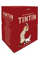 Papel AVENTURAS DE TIN TIN LA COLECCION COMPLETA (8 VOLUMENES) (BOX) (CARTONE)